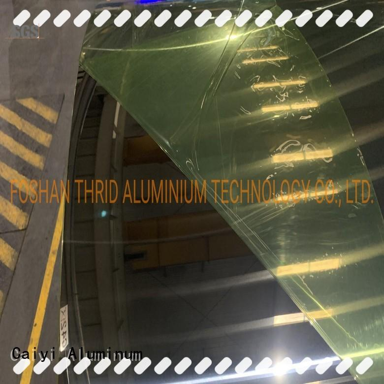 Caiyi 1100 aluminum sheet brand for industry