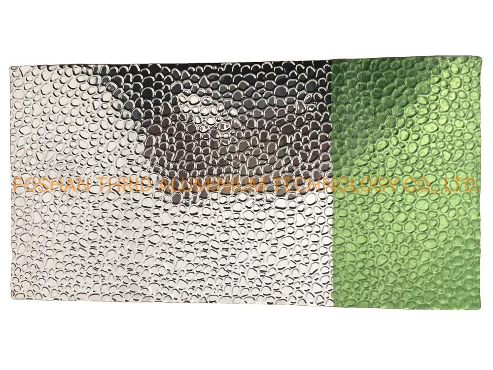 Factory Price Aluminum Checked Plate 1100 Alloy Embossed Aluminum Sheet