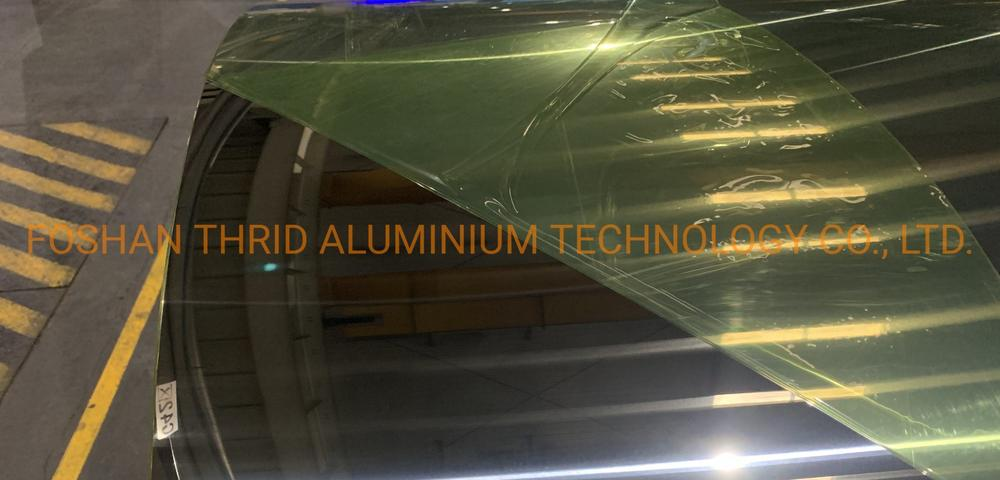 Reflective Polished Mirror 1070 H18 Aluminum Sheet Coil