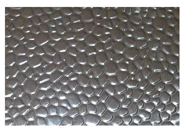 1060 1100 Polished Aluminum Diamond Embossed Plate Factory Supplier