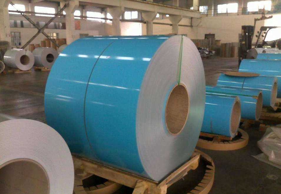 Coloured Coated Aluminum Coil Price Per Kg for Roof