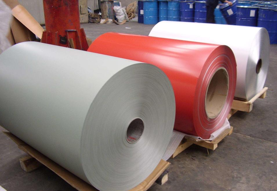 Color Coated Aluminum Alloy Coil 3105 H46 Painted Aluminium Coil