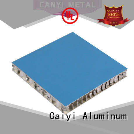 Caiyi best aluminum honeycomb panels customization for curtain wall