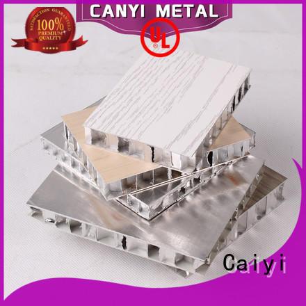 Caiyi custom honeycomb sheet supplier for curtain wall