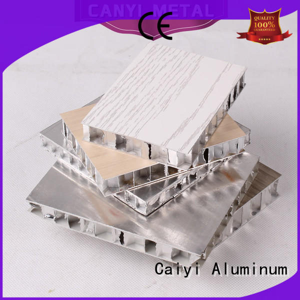 Caiyi high standard honeycomb panel manufacturer for elevator