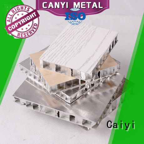 Caiyi custom honeycomb sheet customization for outdoor ceiling