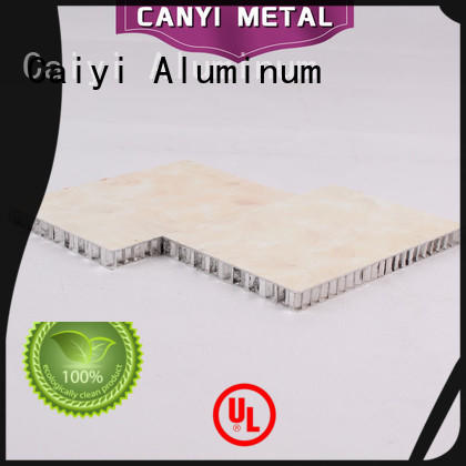 Caiyi honeycomb sheet factory for elevator