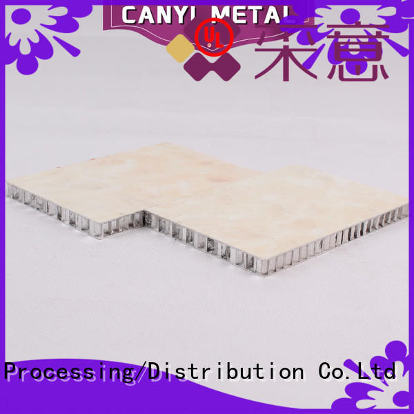 Caiyi custom honeycomb sheet supplier for outdoor ceiling
