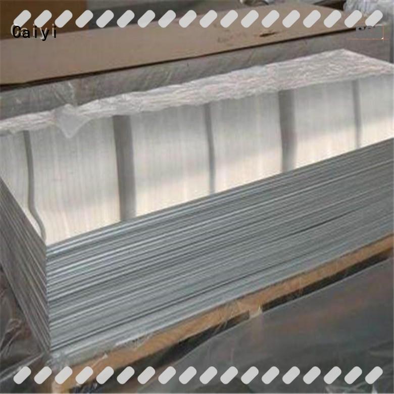 Caiyi 6061 aluminum sheet on a mass scale for aerospace