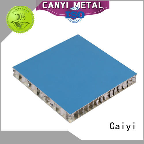 Caiyi aluminum honeycomb panels fast shipping for outdoor ceiling