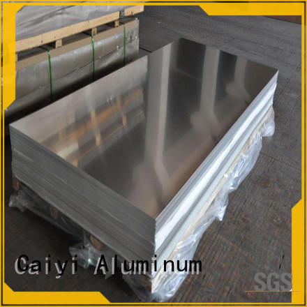 Caiyi fireproof aluminum panel sheet export worldwide for stoppers