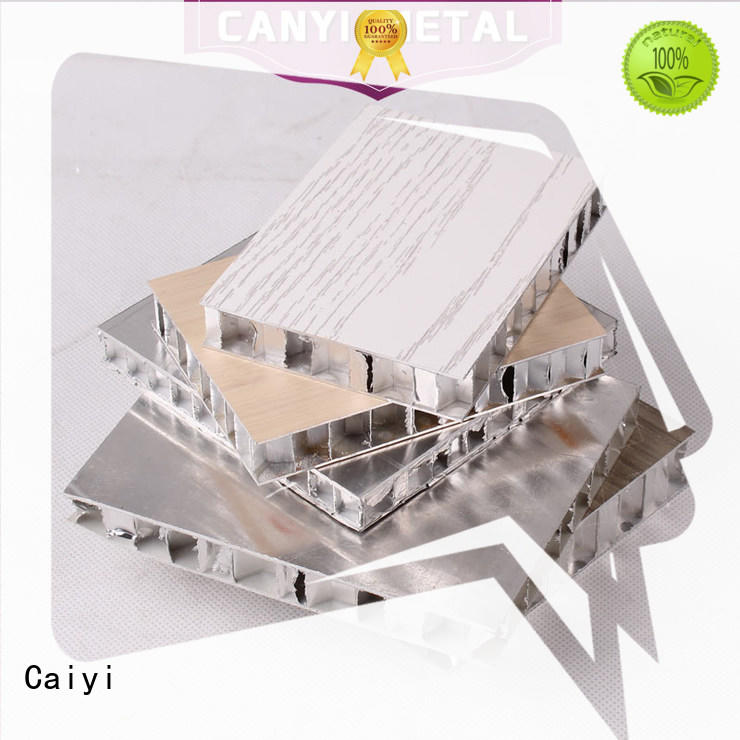 Caiyi best honeycomb sheet customization for building