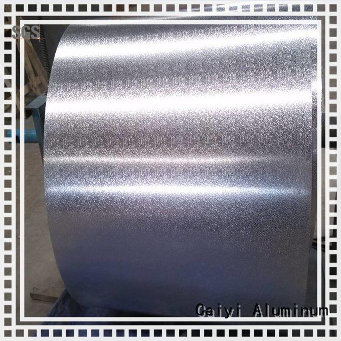 Caiyi eco-friendly 3003 aluminum plate brand for various occasions