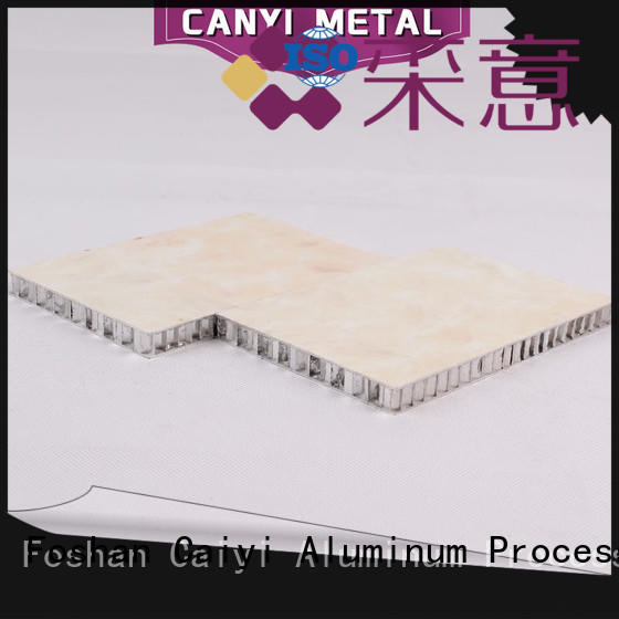 Caiyi best honeycomb panel wholesale for outdoor ceiling