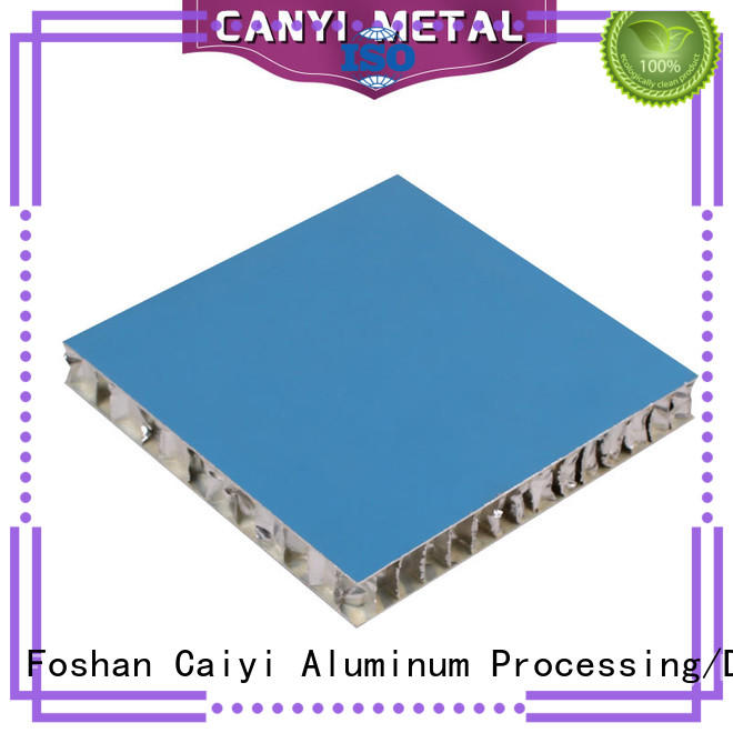 Caiyi best honeycomb panel customization for curtain wall