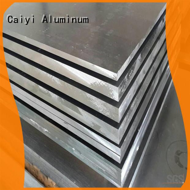 Caiyi fireproof 1100 aluminum sheet brand for reflectors