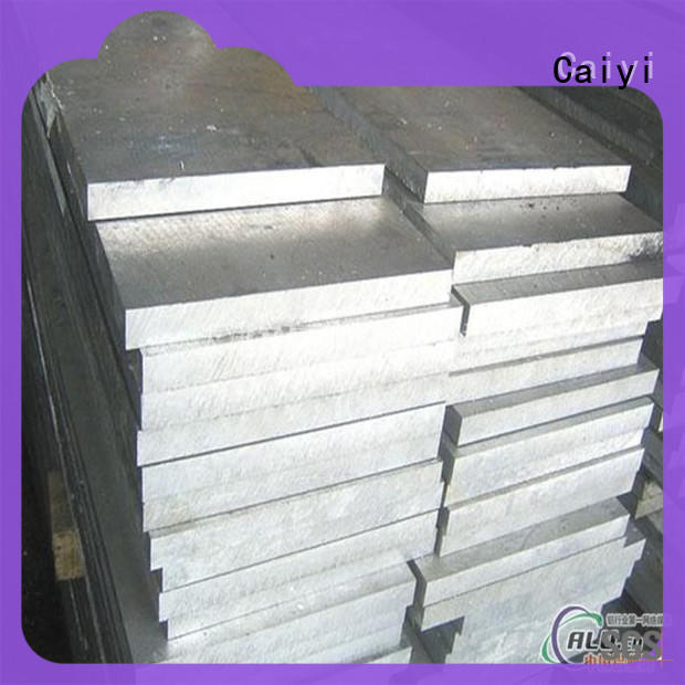 Caiyi 6061 aluminum plate on a mass scale for communications