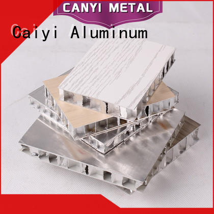Caiyi honeycomb panel factory for outdoor ceiling
