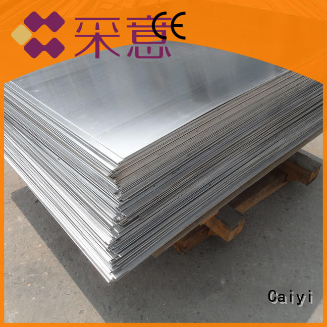 Caiyi aluminum plate for sale from China for vehicles
