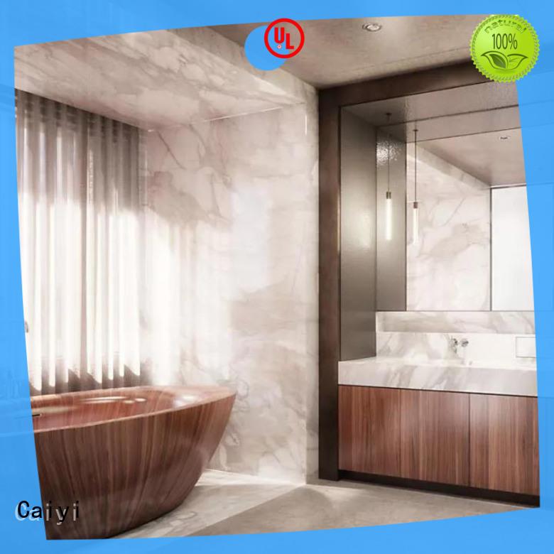 Caiyi aluminum composite panel details for decoration