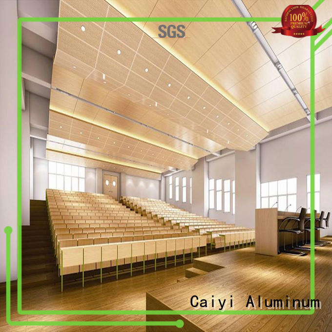 wood aluminum composite sheet supplier for hardware Caiyi