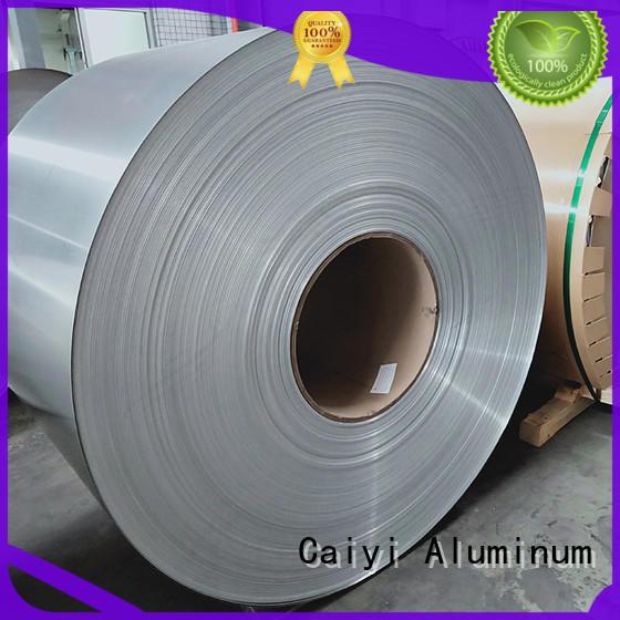 Caiyi aluminum sheet roll brand for hardware