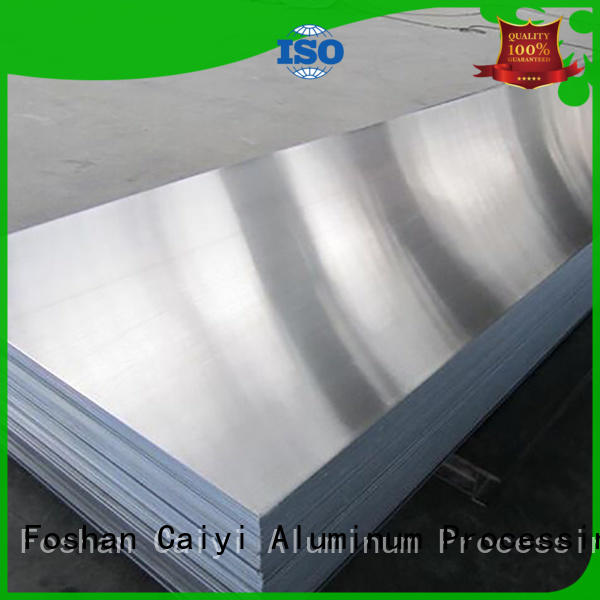 Caiyi thin aluminum sheet metal panels supplier for industry