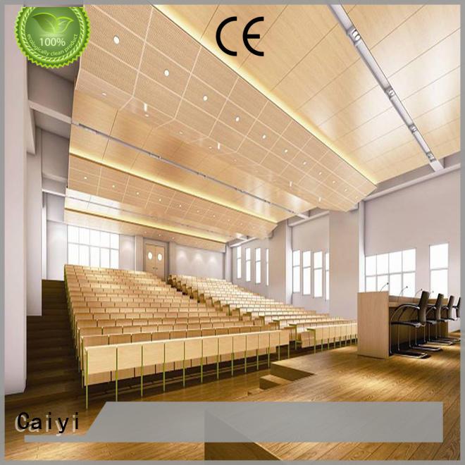 Caiyi aluminum composite panel details manufacturer for building