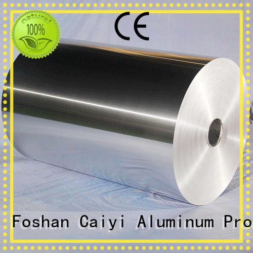 Caiyi aluminum foil composition for packing