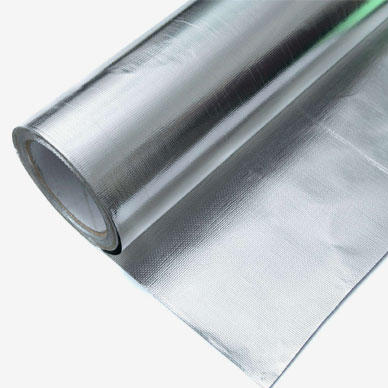The aluminum foil