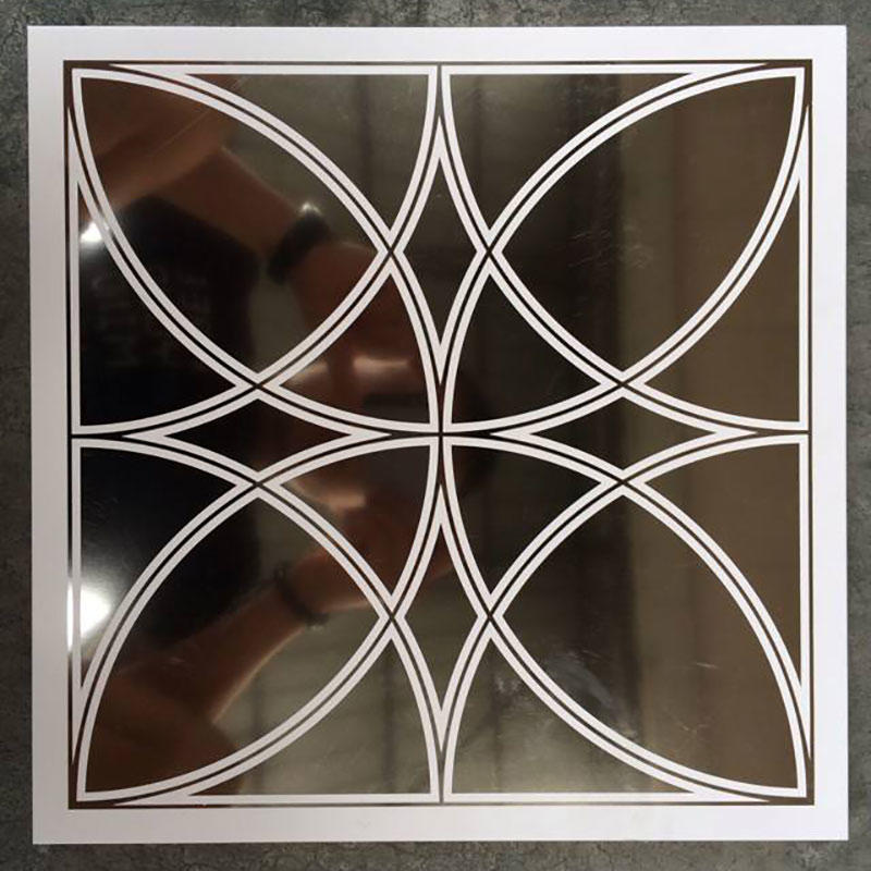 Aluminium Composite Panel  6mm 5mm 4mm 3mm 2mmGold Mirro/Silver mirrorr
