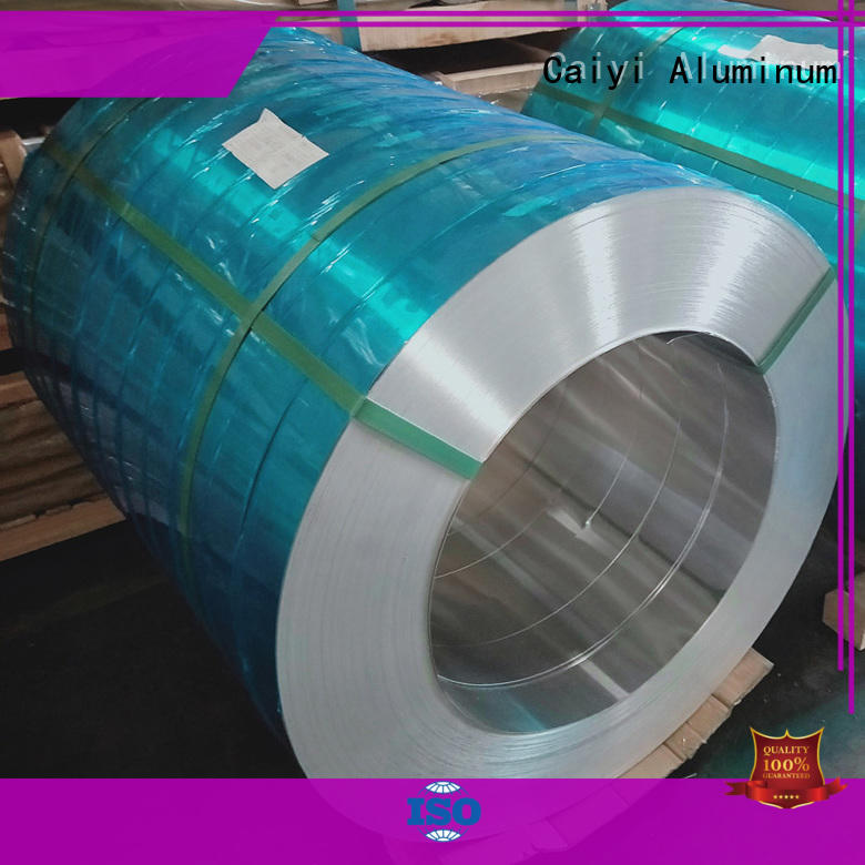 Hot strip aluminum coil thickness tank Caiyi Brand