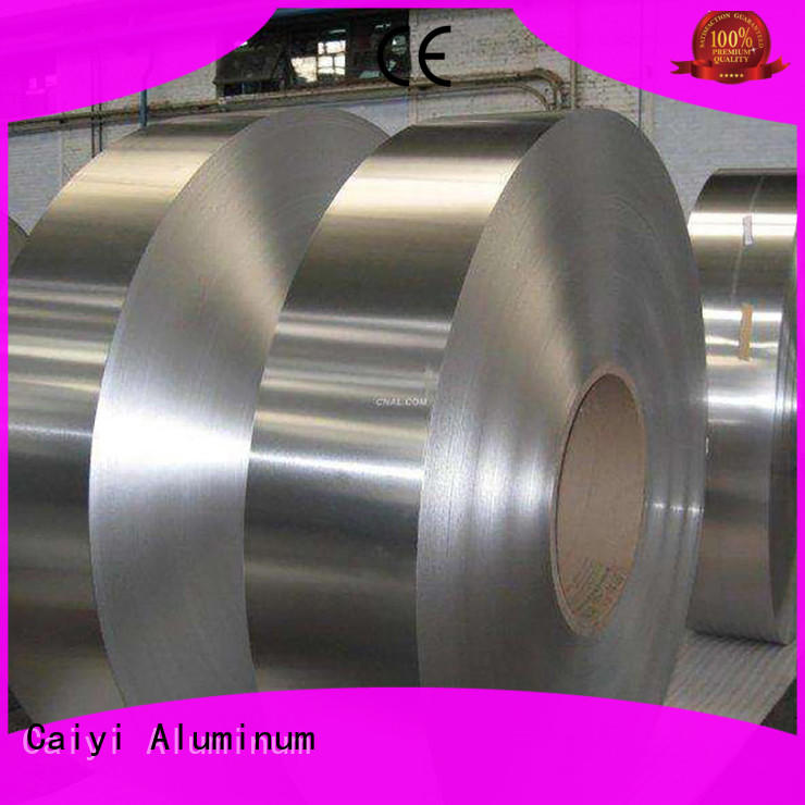 Caiyi shutters aluminum foil sheets wholesale for industry