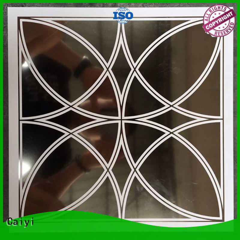 Caiyi coated aluminum composite panel details supplier for industry