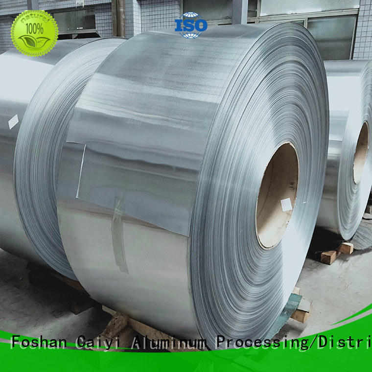 Caiyi waterproof aluminum sheet roll brand for industry