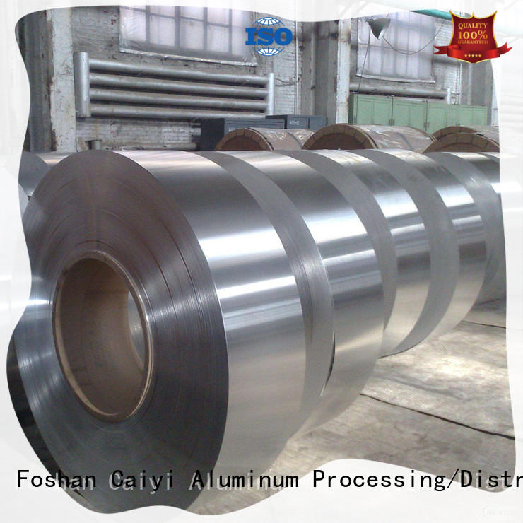 Caiyi embossed aluminum coil stock wholesale for industry