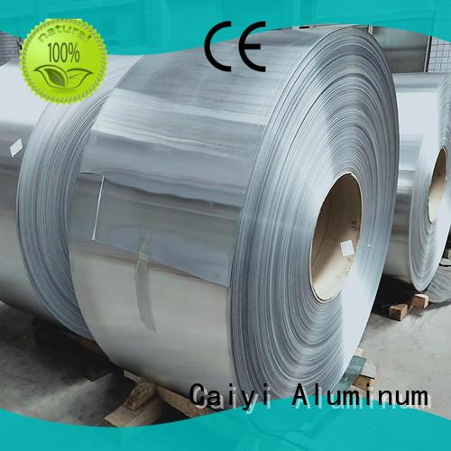 Caiyi pepvdf 1100 aluminum plate manufacturer for nameplates