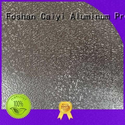 industry aluminum sheet material supplier for radiators Caiyi