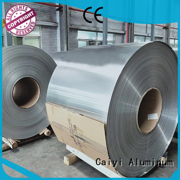 Caiyi Brand quality embossed low coil 3003 aluminum sheet