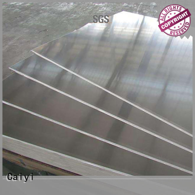 Caiyi embossed 1050 aluminum sheet series for industry