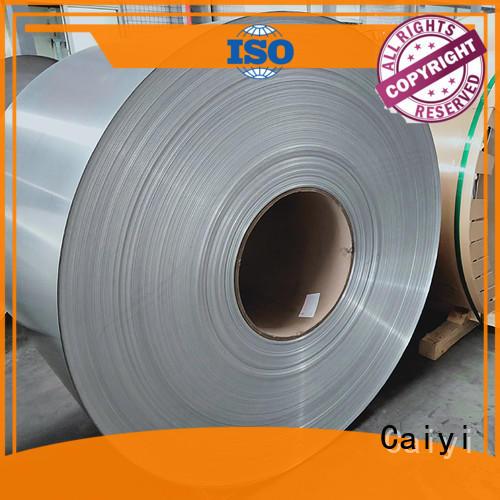 Caiyi 1050 aluminum sheet customization for factory