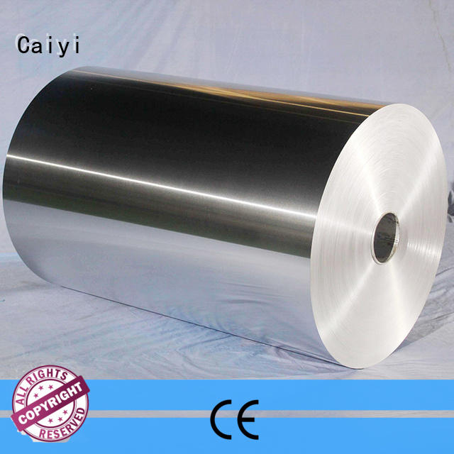 Caiyi aluminum foil composition factory