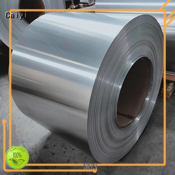 Caiyi Brand multiple uses 6061 aluminum sheet manufacture