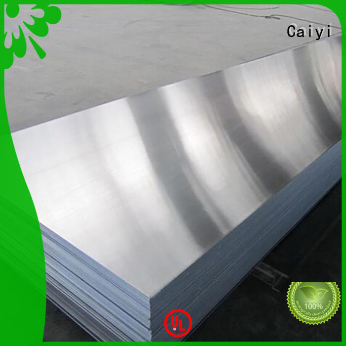 Caiyi high quality aluminium board wholesale for radiators