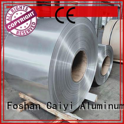 Caiyi 1050 aluminum sheet customization for nameplates