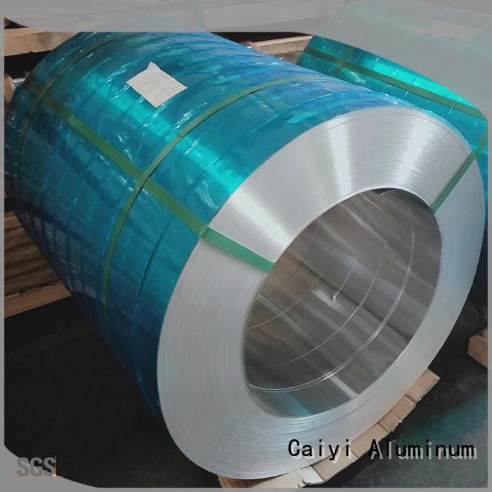 Caiyi standardized 5052 h32 aluminum sheet customization for metal parts