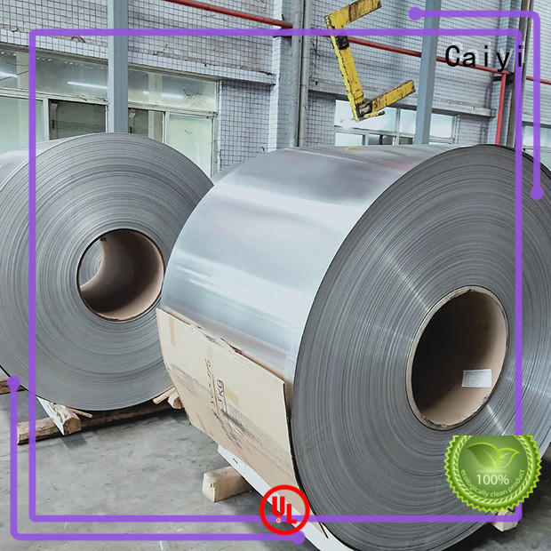 Caiyi aluminum foil sheets from China for industry