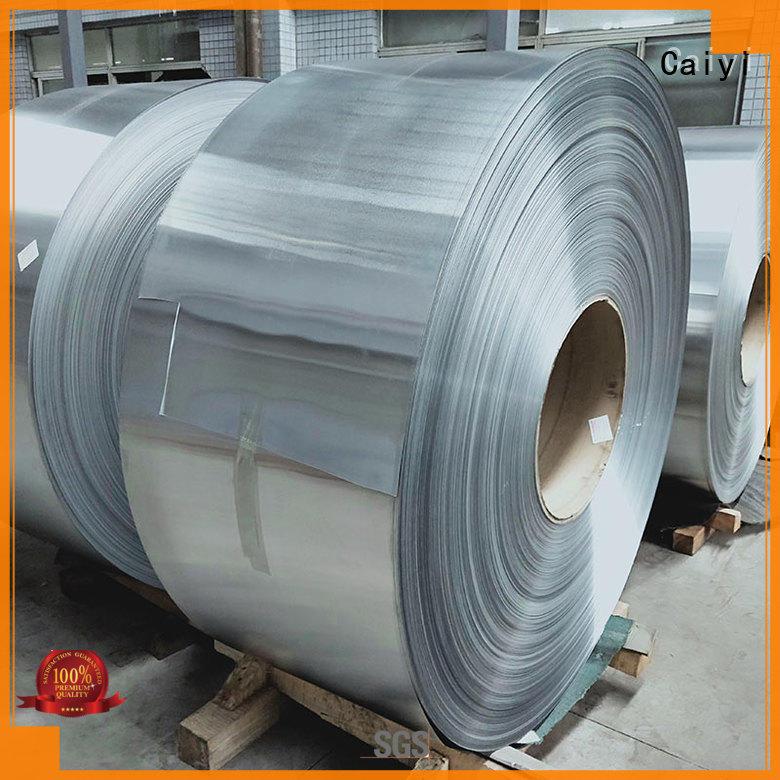 thin aluminum sheet metal panels manufacturer for nameplates Caiyi