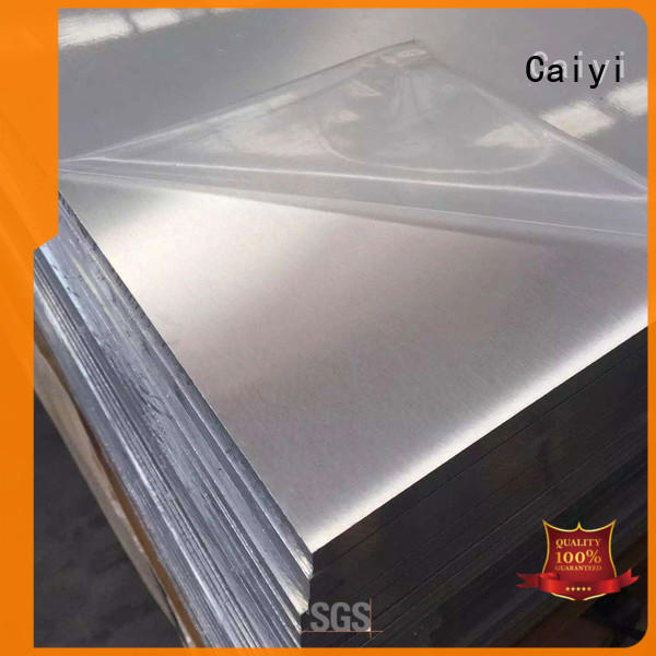 Caiyi low 6061 aluminum plate supplier for industry