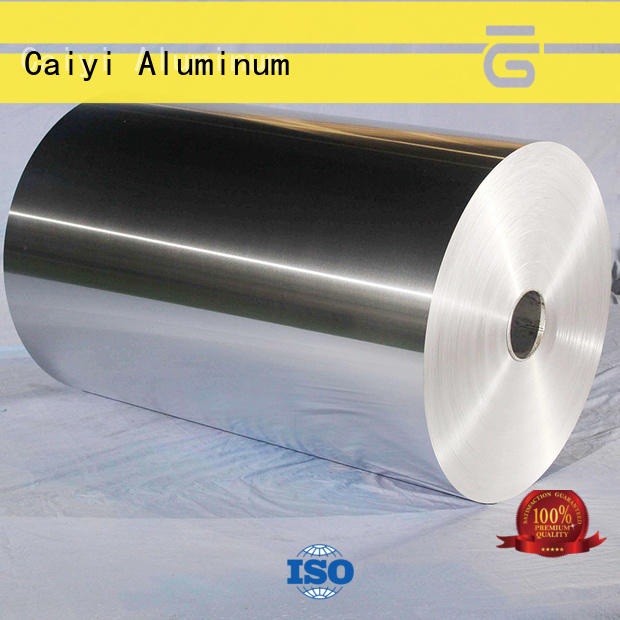 Caiyi packing aluminum foil roll customization for factory